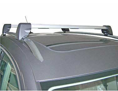 Diagram Base Carrier Bars - For vehicles with factory rails - Silver (5N0071151) for your 1995 Volkswagen EuroVan